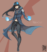 Unoriginal blue fire by Mineiti