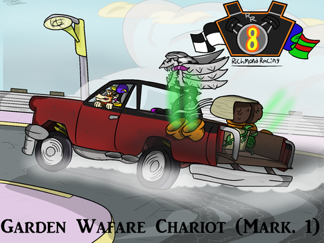 The Garden Warfare Chariot (Mark 1) by Nyanbonecrush