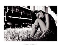 andrea in black and white by hermanzs