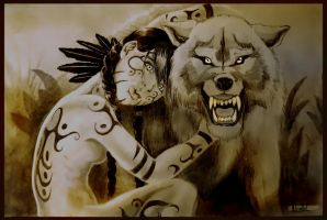 Deenah Wolfblood by Orcellet