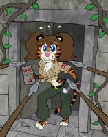 Adventure Tigress by rocketdave