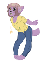 Lilac flavored lynx by ClubsOfMeloncholy