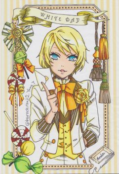 Alois Trancy:White Day by ClaireRoses