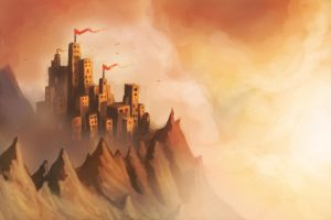 Speedpaint Fortress by Joey-B