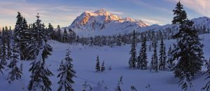 Shuksan Winter Wonderland by jasonwilde