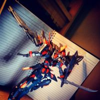 Gundam Kitbash Age 2 Ronin - Second Style. by s00nk1a