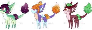 Fruit Bloom Batch Auctions: CLOSED by Kuro-Creations