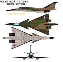 Boeing pre atf studies Model 987 Robert Olds   by bagera3005