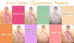Ever After Lightroom Presetss by chupla