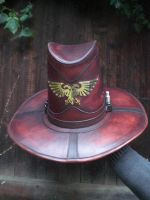 Witchhunter-hat 'Imperial'-1 by Leder-Joe