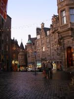 edinburgh street by europestock