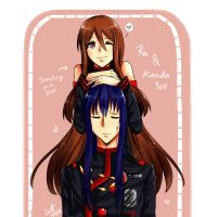 Request: Rei and Kanda Yuu!~ by Saraca-xx
