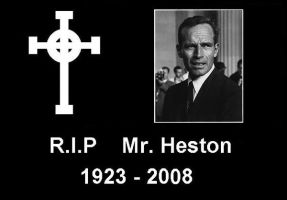 Rest In Peace Mr Heston by RabidTurtlePhoto