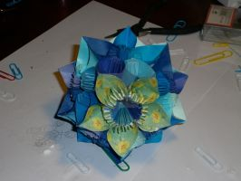 Kusudama Butterfly [W/ Video Tutorial!] by IgnisArdor