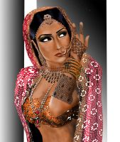 INDIAN BRIDE by montalvo-mike