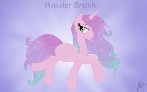 Powder Brush Wallpaper. by Frogmellamogz