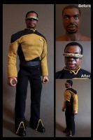 "geordi la forge 12"" by nightwing1975"