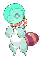 alien thing adopt by pitbullie