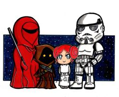 A Family in a Galaxy Far,Far Away.... by CuddlyCapes