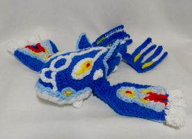 Primal Kyogre ami by gwilly-crochet