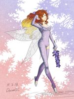 Andrassa's commission - Lavender Fairy by doramsc