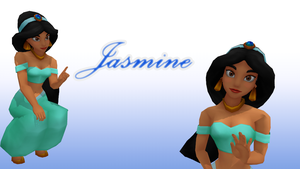 MMD Jasmine by KingdomHeartsNickey