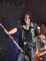 Alice Cooper at Download 5 by thehellpatrol