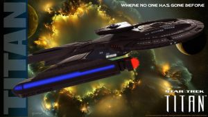U.S.S.Titan Where No One Has Gone Before by stourangeau
