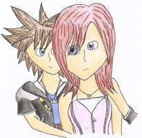 Sora and Kairi: Promises by kookiekween99