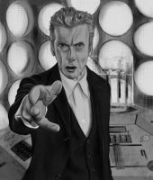 Twelfth Doctor - Old Tardis by Rapsag