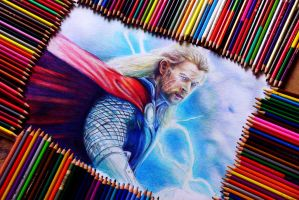 Thor - Work in Progress by Alena-Koshkar