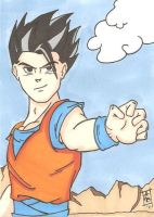 Adult Gohan SC by Elvatron