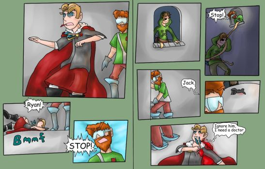 We 3 Kings pages 143-144 by ShadowCatGamer