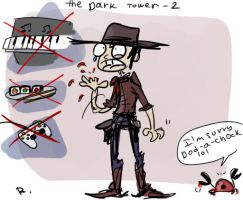 The Dark Tower doodles, 1 by Ayej