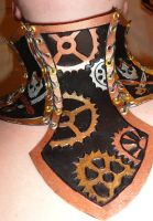 Leather Steampunk Accessories by hellcattheassassin