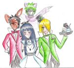 Welcome to Wonderland, Hinata coloured by feelthemagicpowerof3