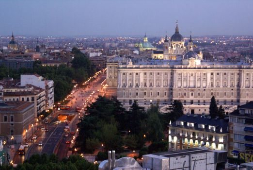 Madrid At Dusk by franzlobo