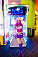 Arcade Miss Fortune cosplay 3 by spacechocolates