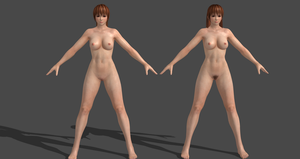 Dead Or Alive 5 LR (Nude) Kasumi by Irokichigai01