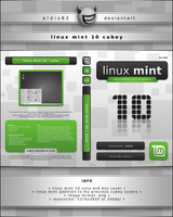 Linux Mint 10 Cubey by elddes