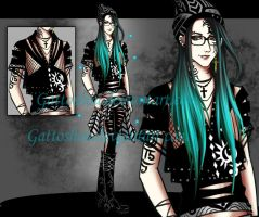 MALE ADOPT 65 [ Auction ] [ CLOSED ] by gattoshou