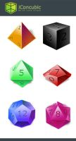 DnD Dice icon Windows version by iconcubic