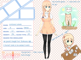 TH APP: Kurosawa Suzume by MarineJelly