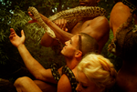 The Snake Charmers by 3feathers