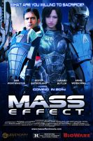 Mass Effect Movie Poster by thecrow1299