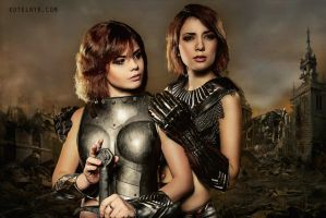 Girls in armour chapter 2 by Fenyachan