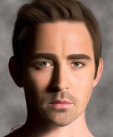 Lee Pace Portrait by MarinaSchiffer