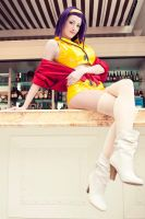 Faye Valentine at the Bar by ShikiUta