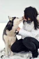 Cold Nose....Warm Heart by sibeworld