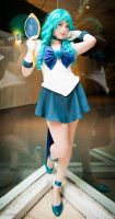 Reflections. - Sailor Neptune by HelenaTears